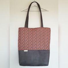 Shopper Schultertasche grau pink