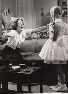 """Patty McCormick, Eileen Heckart """"THE BAD SEED"""" (1956) Scary Movies, Old Movies, Horror Movies, Movie Photo, Movie Tv, The Bad Seed, Scary Monsters, Horror Show, Vintage Hollywood"""