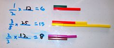 Multiply Fractions With Cuisenaire Rods