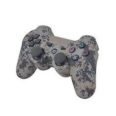 위장 카모 무선 게임 컨트롤러 블루투스 소니 PS3 컨트롤러 플레이 스테이션 3 Dualshock 3 조이스틱 콘솔