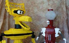 MST3K - Tom Servo and Crow now in Lego!