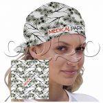 Bayan bandana tasarımı ve baskıları