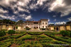 Viskaya Castle gardens Miami...