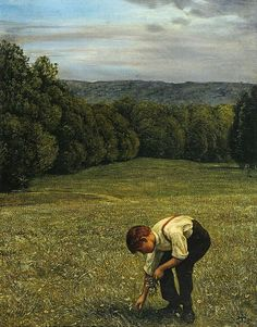 Hans Thoma, Forest meadow