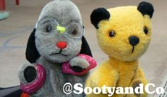 EXCLUSIVE behind the scenes! , #sooty and #sweep in-between f... on Twitpic