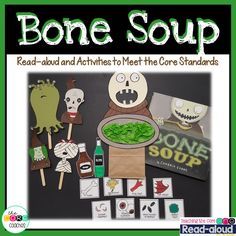 Bone Soup puppet for