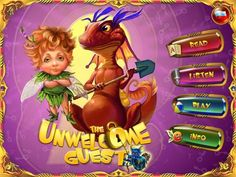 Elfishki™ Team and The Unwelcome Guest (in 3 Languages) by Elka Palka Production - a beautiful, magical story with amazing illustrations and animations.  Original Appysmarts score: 85/100 @Fairy Tales and Myths of Elfishki  #kids #apps #kidsapps