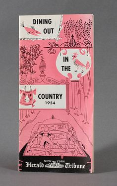 :: Dining Out In the Country NYC (c1954) | Designer: unknown ::