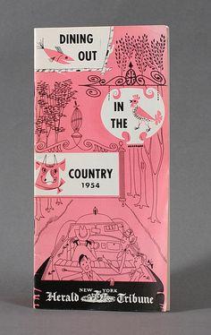 Brochure (1954) | Illustrator: Unknown | Photo: Javier García