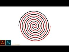 How to draw a perfect spiral in adobe illustrator #archimedean