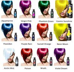 """Arctic Fox"" 4 Oz Or 8 Oz Vegan Semi-Permanent Hair Dye Bright Vibrant Colors Vibrant Hair Colors, Hair Color Purple, Hair Dye Colors, Blue Hair, Artic Fox Hair, Arctic Fox Hair Color, Semi Permanent Hair Color, Demi Permanent, Rainbow Hair"
