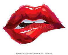 Sexy Lips Painting Box Canvas Print Wall Art - Choice of Sizes x Lip Art, Art Rouge, Lips Painting, Painting Art, Paintings, Lip Wallpaper, Arte Fashion, Lip Biting, Red Aesthetic