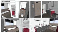 Voor dit ontwerp in Tiel is er een dakkapel op de achtergevel geplaatst. De slaapkamer en de badkamer zijn hierbij aanzienlijk groter geworden.