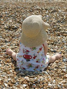 My little beach baby