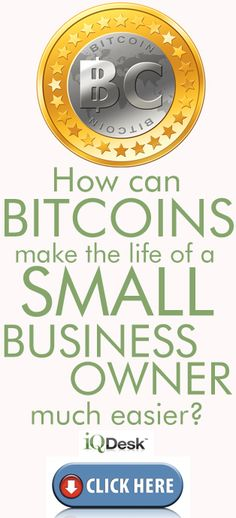 How can #bitcoins make the life of a #smallbusiness owner much easier?