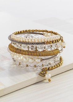 """Silpada Practical Pearls Bracelet 