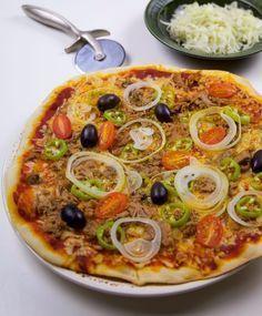 Detta är ett recept som ger dig den godaste pizzan någonsin!