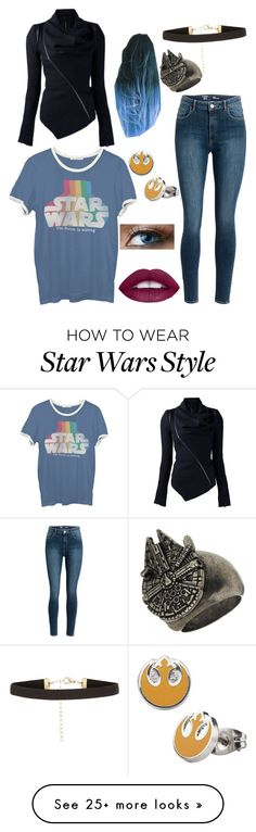 """""""Star Wars"""" by ununiformedstyles on Polyvore featuring Junk Food Clothing"""