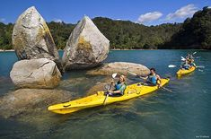 Kayak and Walk in Abel Tasman
