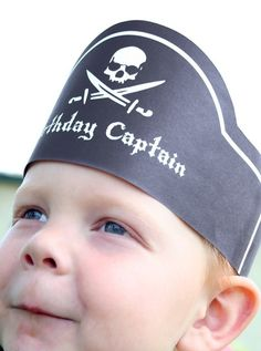 what's better than pirates for a boys birthday party?