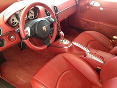 Porsche Cayman S - Full Leather Interior (Carrera Red)