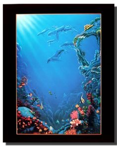 Home or office is incomplete without wall art and posters. This beautiful tropical fish and coral underwater ocean art print poster from the house of impact posters gallery is sure to improve the decor of your living room immensely! This cheerful poster will bring a sense of natural beauty to any home. Grab this poster for its durable quality and wonderful color accuracy.
