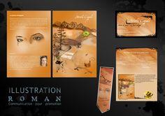 """Illustration de la couverture du roman """"La bonne échappée"""" et outils de communication pour la promotion du livre"""