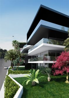 Residence 87, Soligny1.200 m2 - Cannes - Studio Guilhem - Architecture…