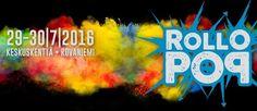 RolloPOP on uusi kaupunkifestivaali, joka järjestetään Rovaniemen ydinkeskustassa heinäkuun viimeisenä viikonloppuna 29.-30.7.2016. Vuosikausia kestänyt odotus palkitaan myös, sillä heinäkuussa RolloPOPin lavalle nousee Apulanta, jolle tämä on ensimmäinen festivaalikeikka Rovaniemellä yhdeksään vuoteen!