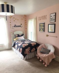 Teen Girl Bedrooms suggestions, from midas to jaw dropping posts 5838000509 - Drop dead lovely teen room decor examples. For other dreamy information simply press the pin-link today. Dressing Room Design, Teenage Girl Bedrooms, Teal Teen Bedrooms, Kid Bedrooms, Girl Bedroom Designs, Design Bedroom, Stylish Bedroom, Modern Bedroom, Little Girl Rooms