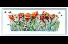 handcrafted Irish ceramic and glass raku fired wall art Ireland Ceramic Wall Art, Glass Wall Art, Ceramic Clay, Gcse Art, Inspirational Wall Art, Ceramic Flowers, Glass Jewelry, Jewellery, Wall Sculptures