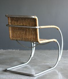 MR20 lounge chair by Ludwig Mies van der Rohe Berliner Metall 2