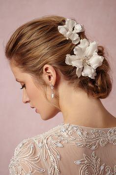 Magnolia Hairpins