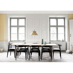 Rustic dining room with wishbone chair, pretty or nay? #rumahkudiningroom