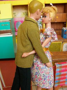 Love  kissing in the kitchen!