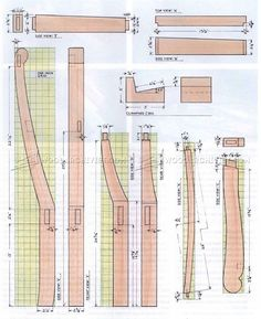 #1805 Garden Bench Plans - Outdoor Plans