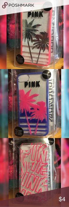 ✨ VS PINK IPHONE 7 CASES ✨ 📣📣📣 ** BUNDLE & SAVE ** Purchase these all together as well as something else from my boutique for a huge discount. ‼️‼️‼️NO BUNDLE... NO DEAL‼️‼️‼️‼️‼️ PINK Victoria's Secret Accessories Phone Cases