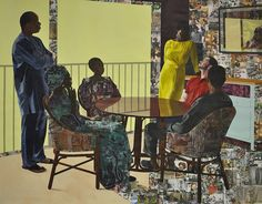 Off-Site Exhibitions: Njideka Akunyili Crosby: The Beautyful Ones and Two Films by Akosua Adoma Owusu - Hammer Museum