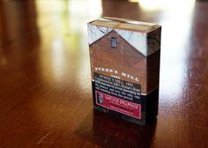 Matchbox Building: Matchbox Miniature of Byrne's Flour Mill, Queanbeyan, Australia.