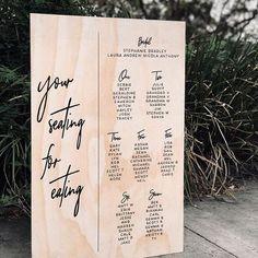 Reception Seating Chart, Wedding Reception Seating, Seating Chart Wedding, Wedding Table Settings, Wedding Signage, Seating Charts, Reception Ideas, Table Seating, Wedding Table Plans