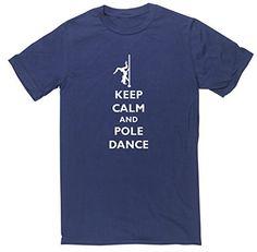 HippoWarehouse KEEP CALM AND POLE DANCE unisex short sleeve t-shirt HippoWarehouse http://www.amazon.co.uk/dp/B00V8I72E0/ref=cm_sw_r_pi_dp_NeA6vb0R86FWQ