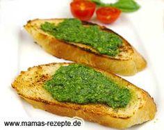 Bärlauch - Pesto | Mamas Rezepte - mit Bild und Kalorienangaben
