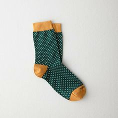 Etiquette Clothiers x SA Green Dot Socks Cute Socks, My Socks, Happy Socks, Crazy Socks, Funky Socks, Green Dot, Girly, Mode Outfits, Mode Inspiration