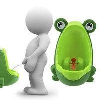 Kup si Fashion Lovely Children Stand Vertical Urinal Urine Groove Portable Baby Potty Boy Kids Toilet Trainers za Wish - Nakupování je zábava