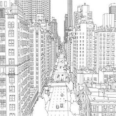 Fantastic Cities: the most intricate all-ages colouring book yet. Definitely one for an enthusiast of Architecture: