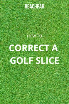 Learn how to correct a slice with our complete guide and master your golf swing today! Golf 6, Play Golf, Golf Slice, Golf Cart Accessories, Golf Putting Tips, Golf Photography, Golf Umbrella, Golf Instruction, Golf Training