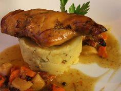 ▷ Nejlepší pečený králík: 8 receptů Chicken, Cubs