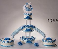 See how ridiculous weddings have gotten over the past 100 years all through the lens of the wedding cake.