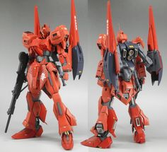 1/144 MSZ-000 Zero Shiki - Custom Build Modeled by Kobaruto