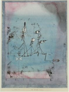 I've always loved this piece by paul klee